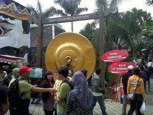 gong terbesar kedua di indonesia